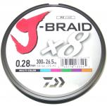 Daiwa J-Braid 300 m multicolor (9,32€ / 100 m)